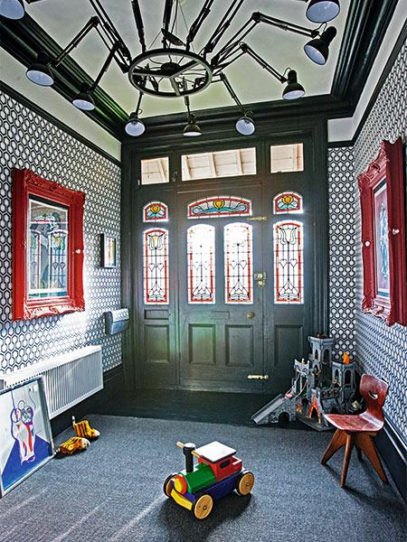 Edwardian-hallway