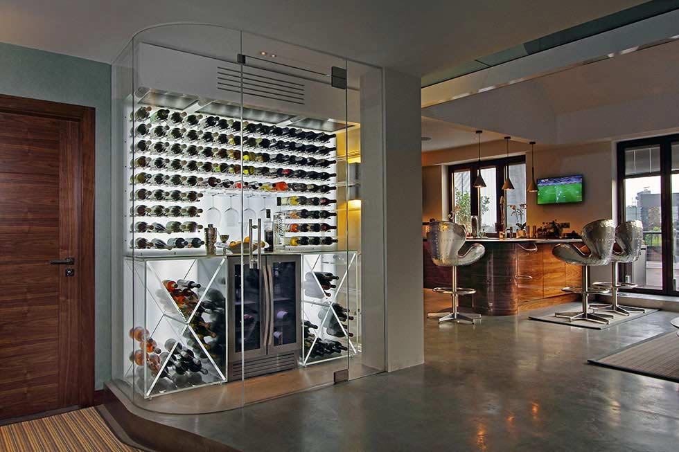 How to build a wine room or wine cellar real homes for Cost to build wine cellar