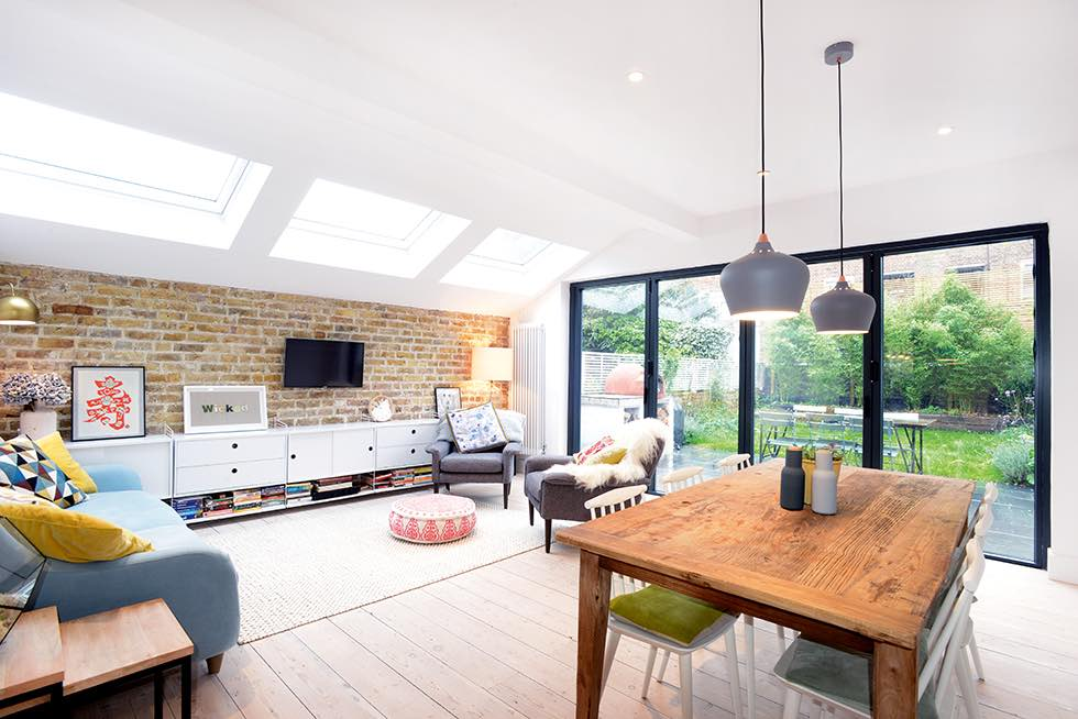 12 kitchen extension ideas under 100k real homes for Building a kitchen extension ideas