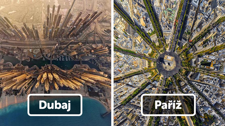 24 měst, jak jste je pravděpodobně nikdy předtím neviděli