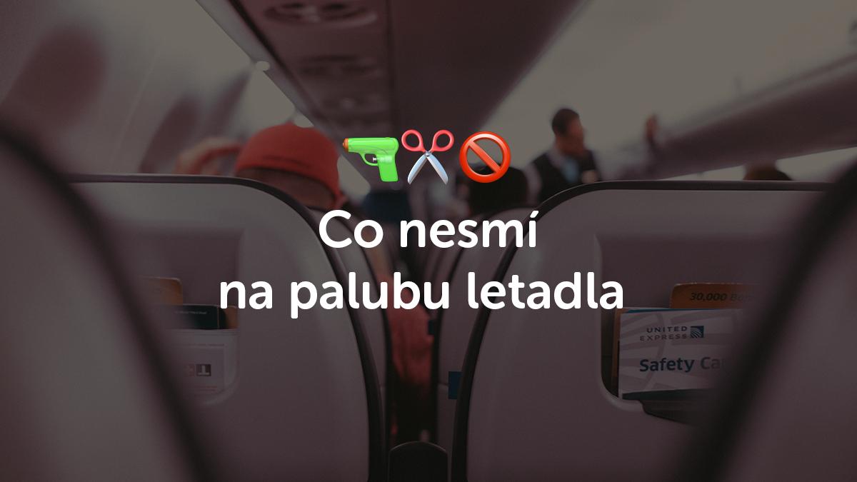 Návod, jak bezpečně projít kontrolou na letišti