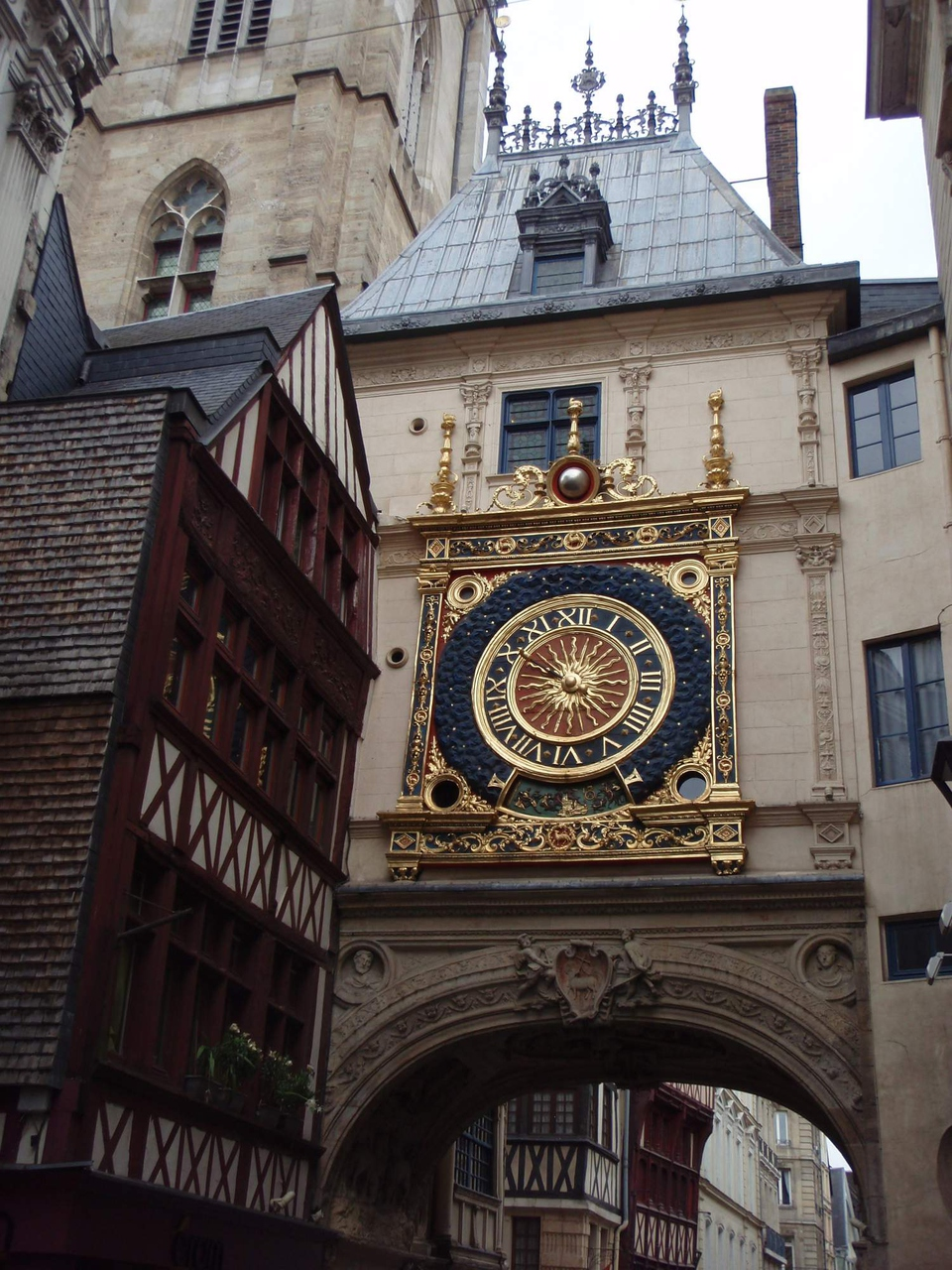 Francouzský stopařský deník: 5) Rouen a přes Frankfurt nad Mohanem domů