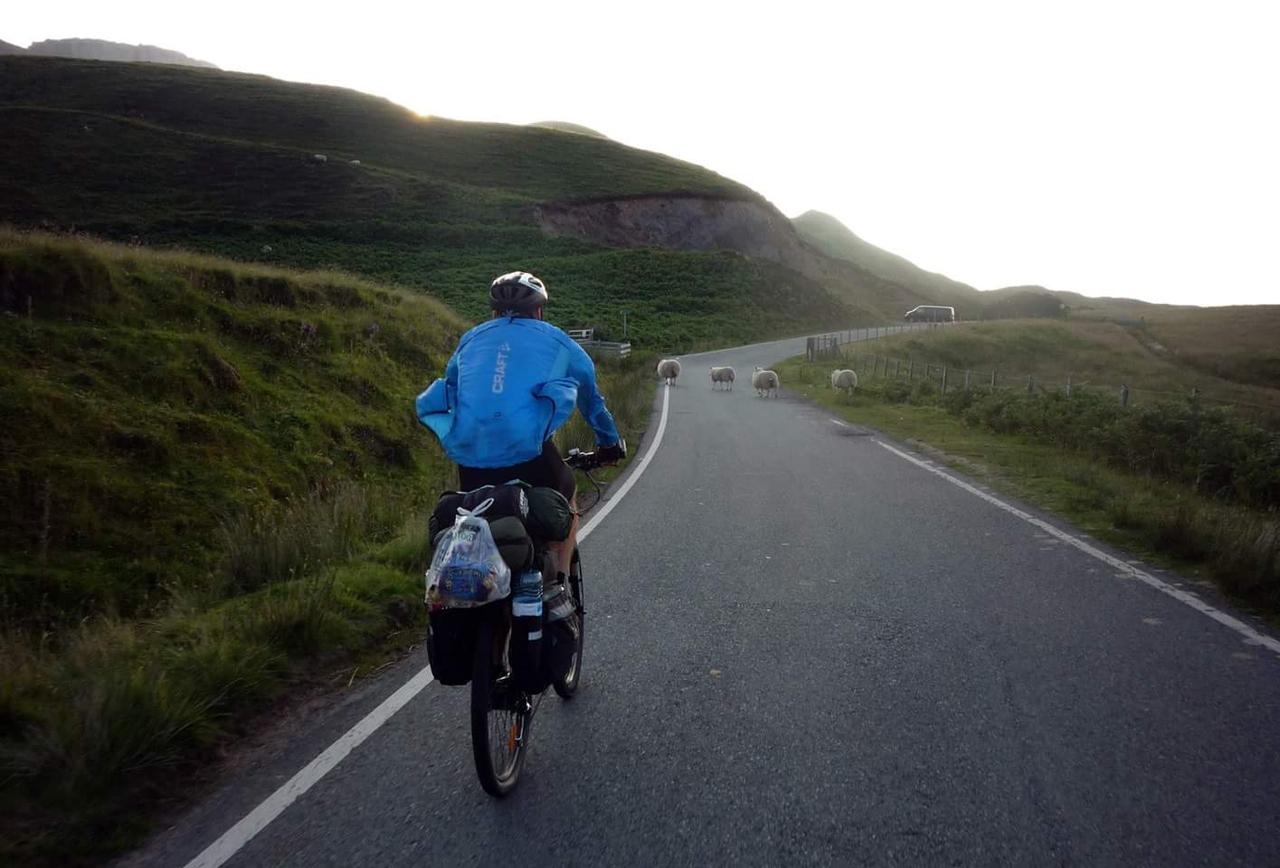 Na kole po Skotsku