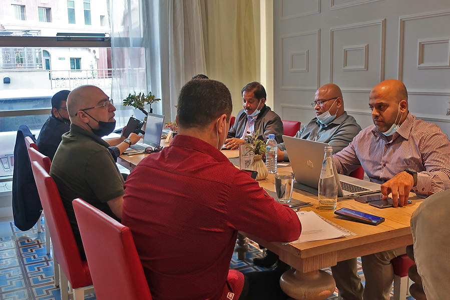 Meeting with IFS Executive Chefs
