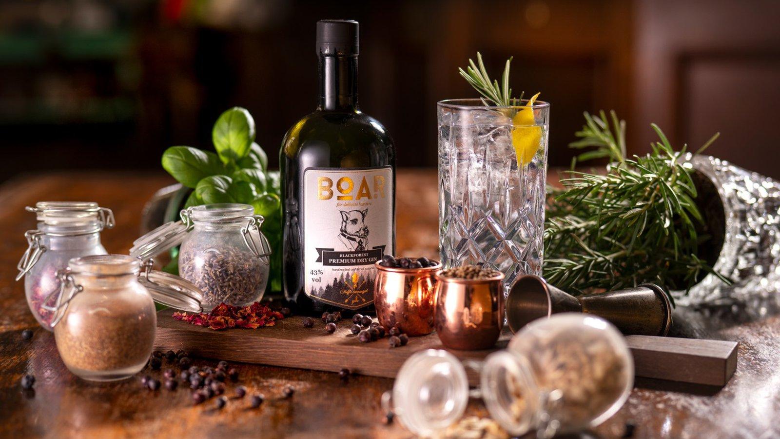 BOAR Gin als Gin des Jahres 2019 ausgezeichnet