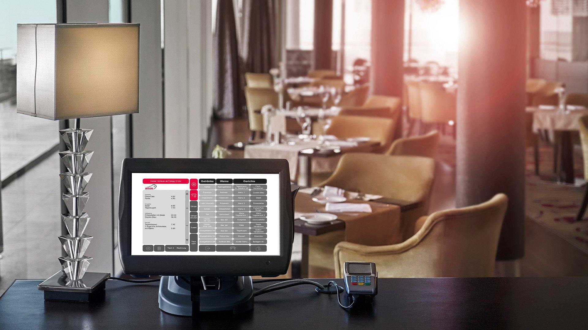 Kassensystem Bison IT Services AG