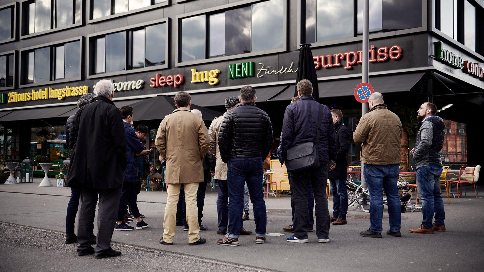 """Das war: """"CHEF'S-TOUR: Zürich Trends & Hotspots"""""""