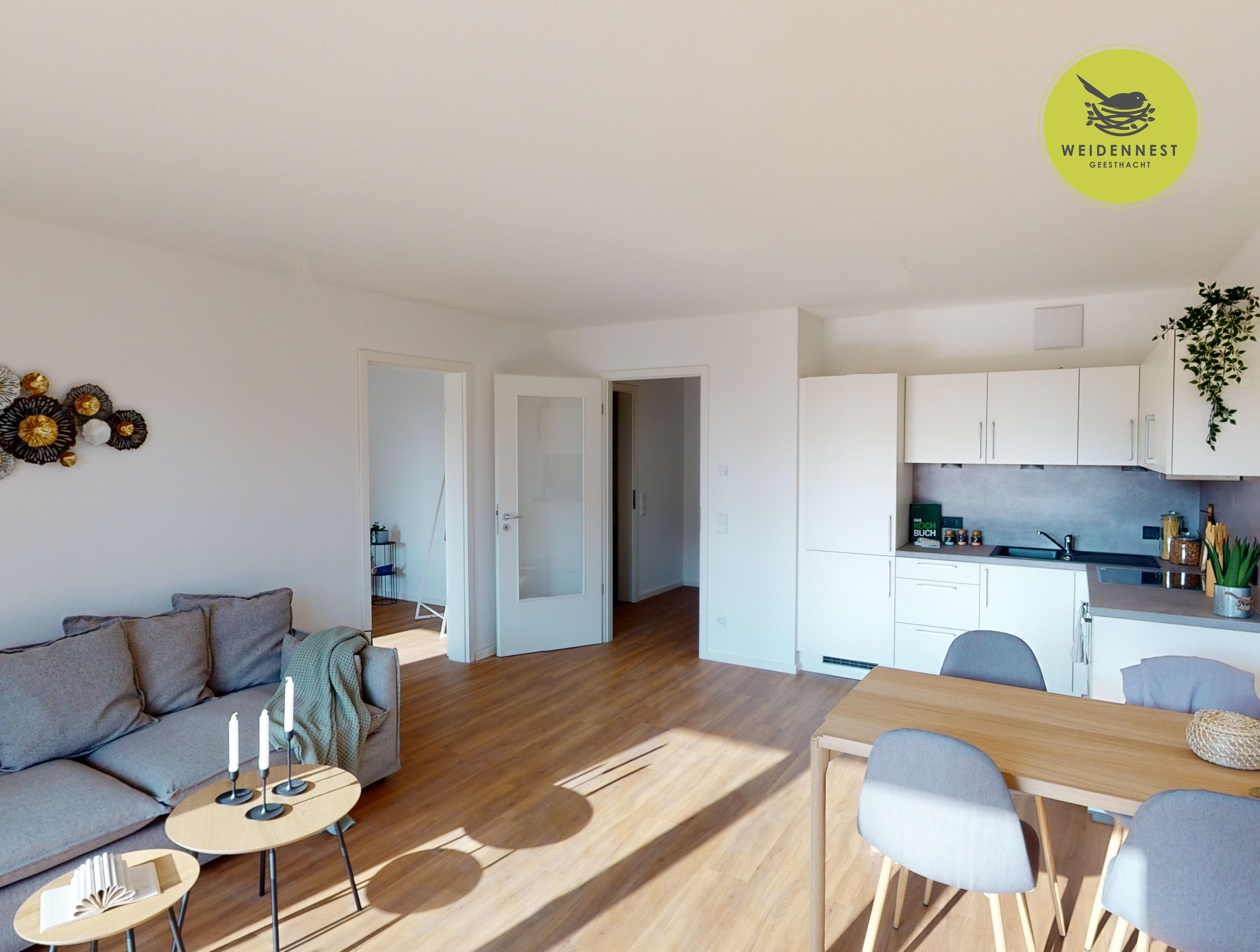 Vorschaubild zu Wohnen in familienfreundlicher Umgebung: 4-Zimmer-Wohnung mit Erstbezug