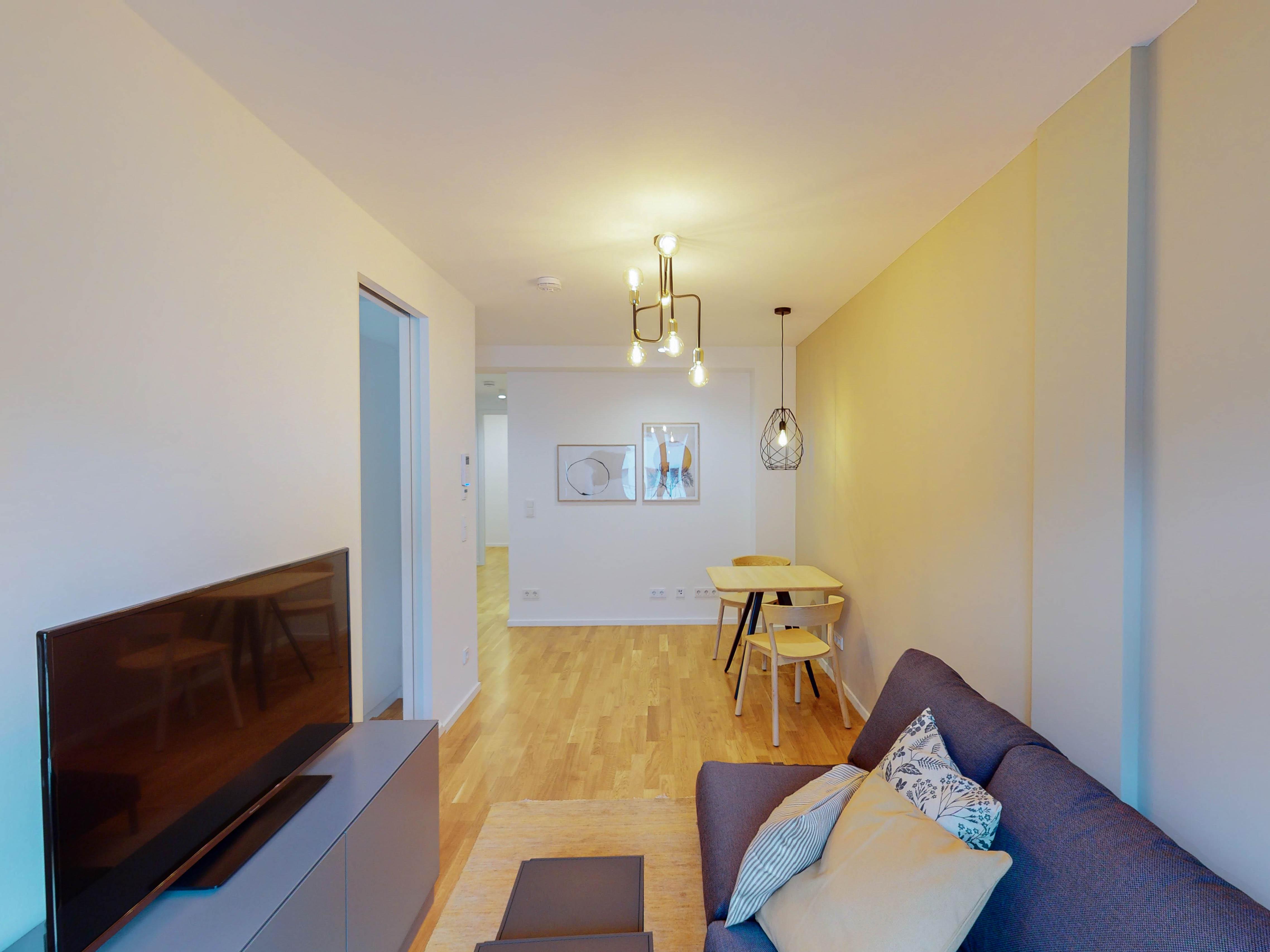 Vorschaubild zu Mitten in Bornheim: Wohnen in möbliertem Apartment