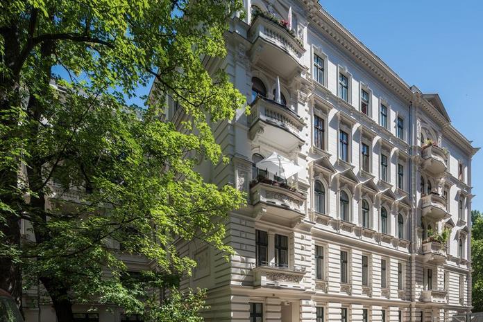 Beeindruckende 3-Zimmer-Wohnung im historischen Denkmal!