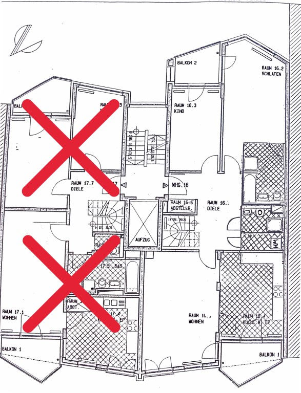 Immobilienmakler Berlin   (Bitte nicht anrufen!!!) Maisonette-Penthouse zwischen Rosenthaler Platz und Weinbergspark!