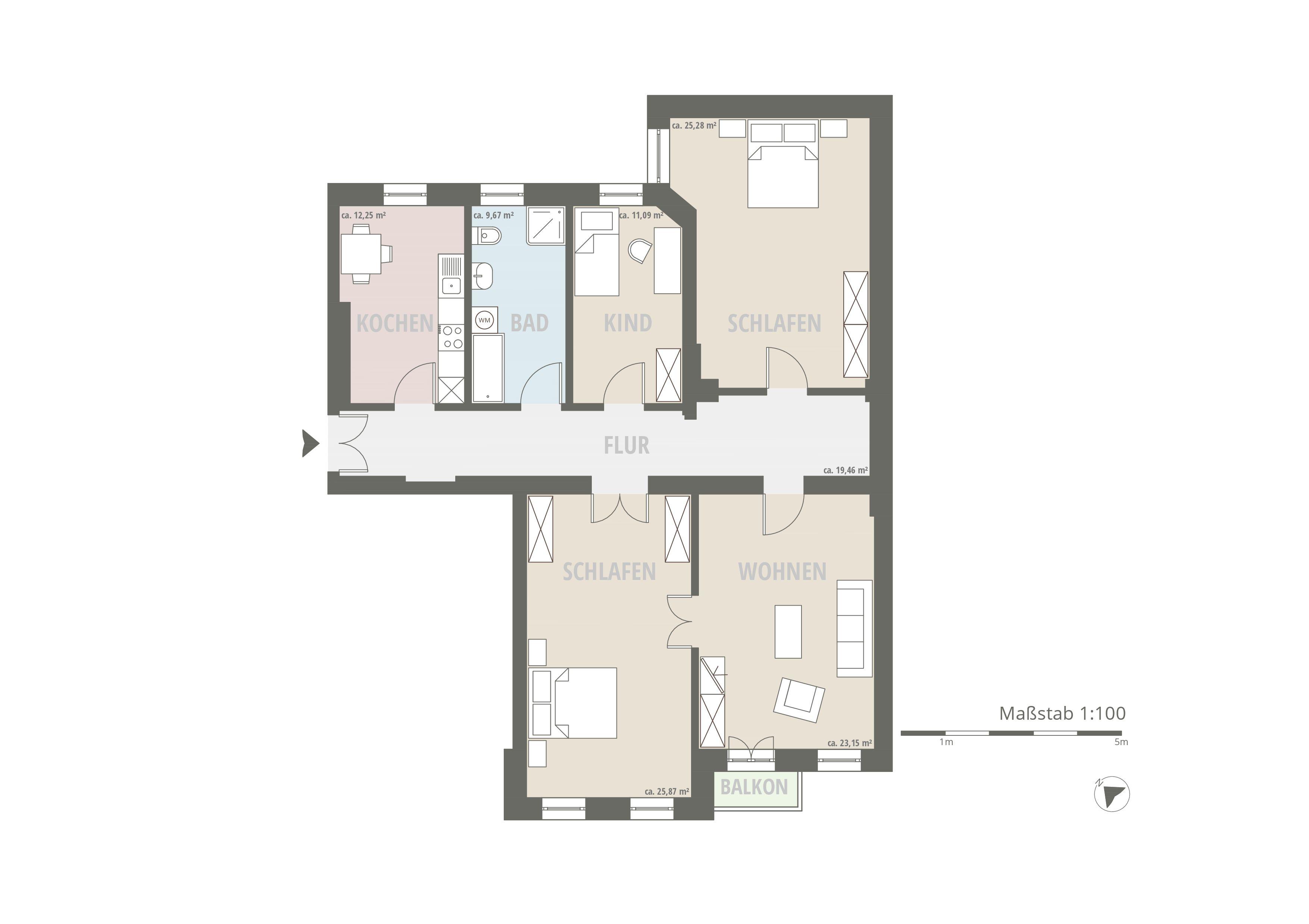 Immobilienmakler Berlin | Die Stuck-Flügeltür-Erker-Altbau-Perle am Friedrichshainer Comeniusplatz