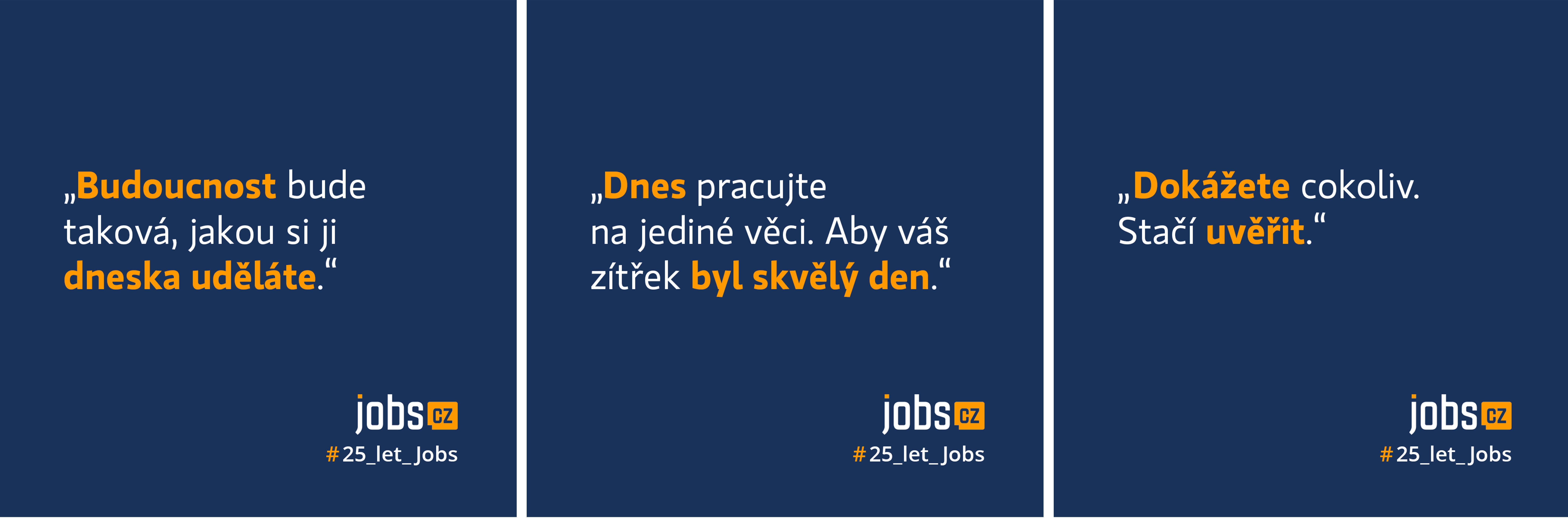 Kampaň Jobs.cz 25 let