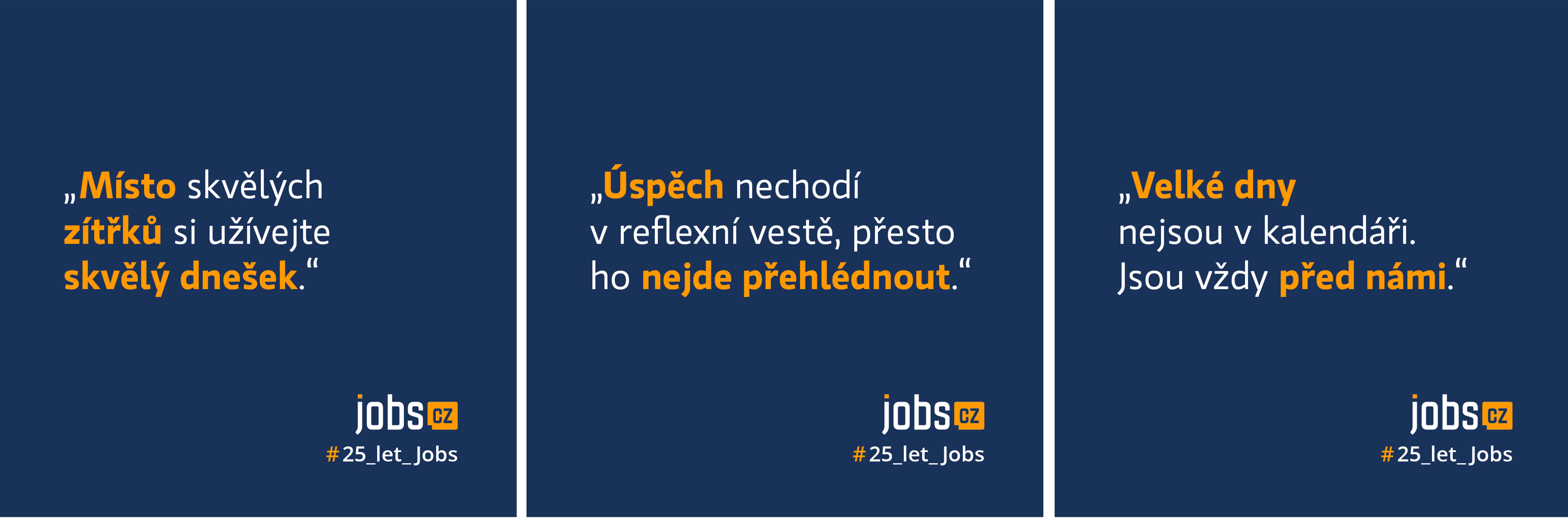 Ukázka kampaně Jobs.cz