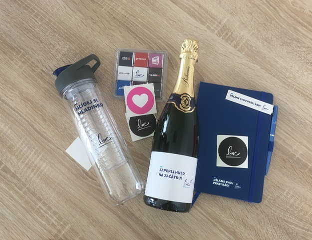 Uvítací balíček pro nového kolegu