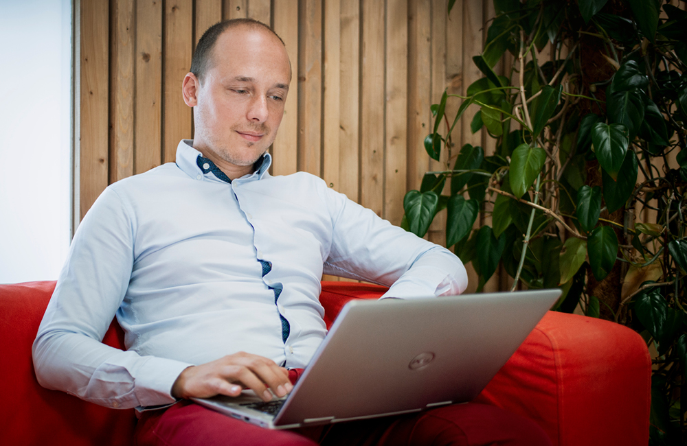 Michal Osuský, CEO Arnold robot