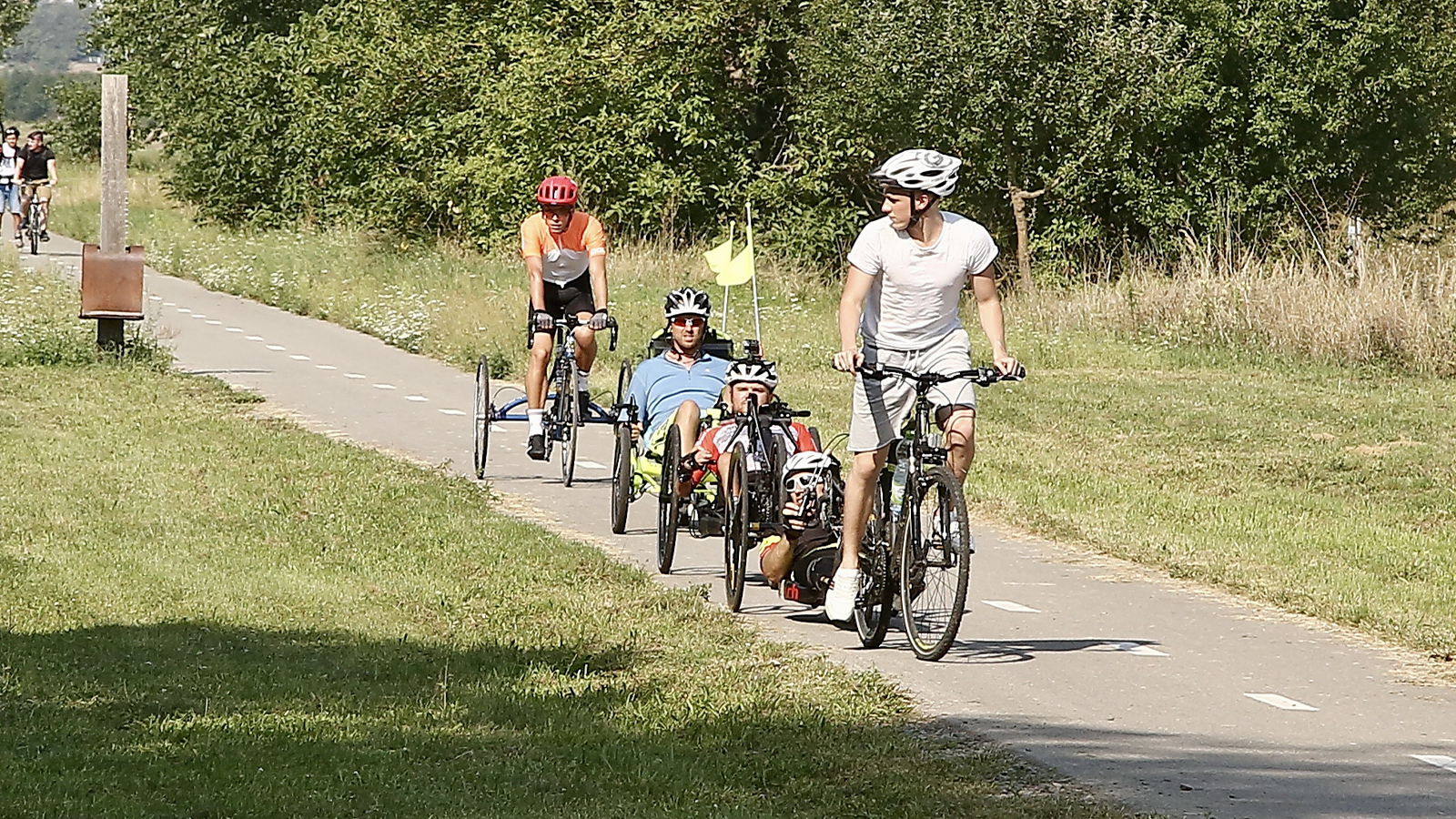Na cyklovýletě s Ligou vozíčkářů
