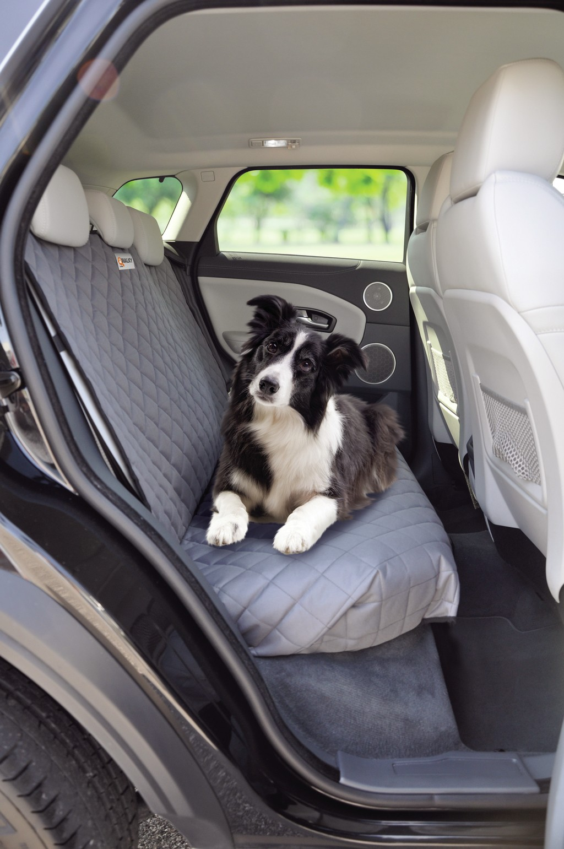 YOUTHINK Panno di Oxford di Protezione di Sicurezza Barriera di Sicurezza Cane Separatore Barriera per Seggiolino Auto per Cani Portatile Pet Net Barrier in Rete Nero