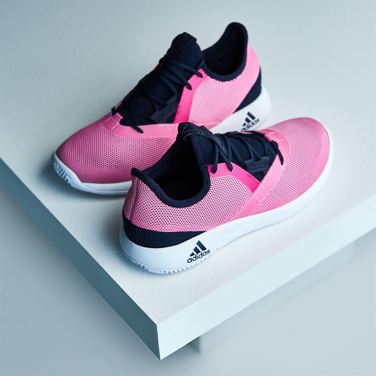ed4fa59da Tenisice adidas Adizero Defiant Bounce Trainers Ladies Ink Shock Pink -  Jeftinije.hr