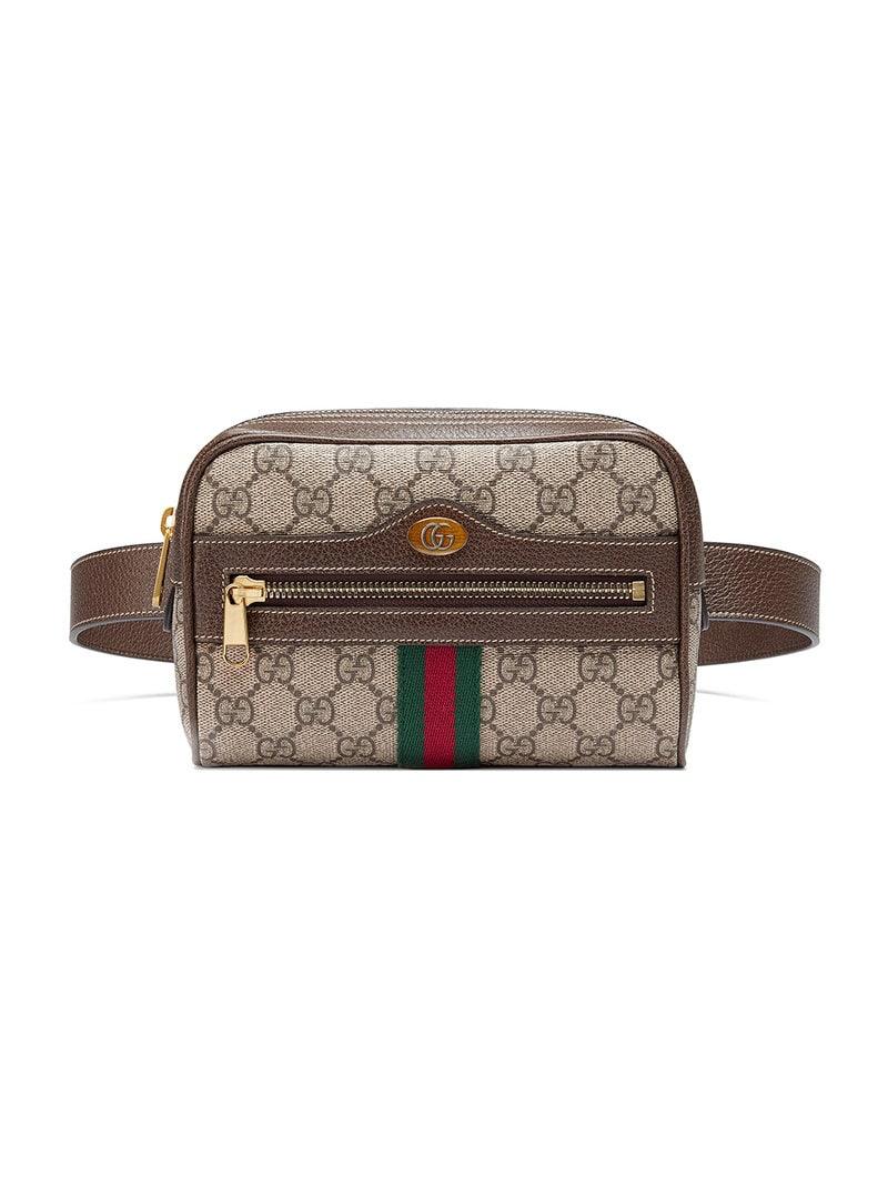 a09230daf Gucci - brown Ophidia GG Supreme small belt bag - women - Neutrals ...