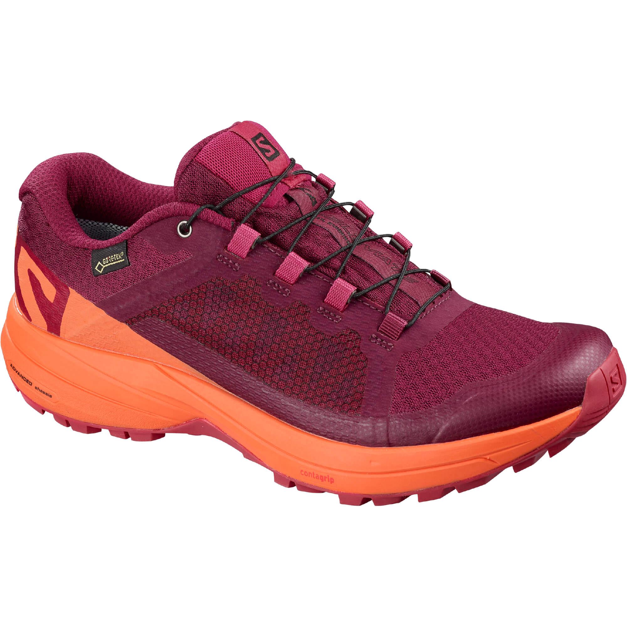 Salomon Xa Elevate Gtx® W Beet RedNasturtiumVirtual Pink 38.7