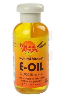 e vitamin olje