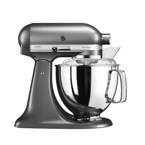 KitchenAid kuhinjski robot Artisan 5KSM175PSEMS, Medaillon Silver - odprta  embalaža e5598f164c38