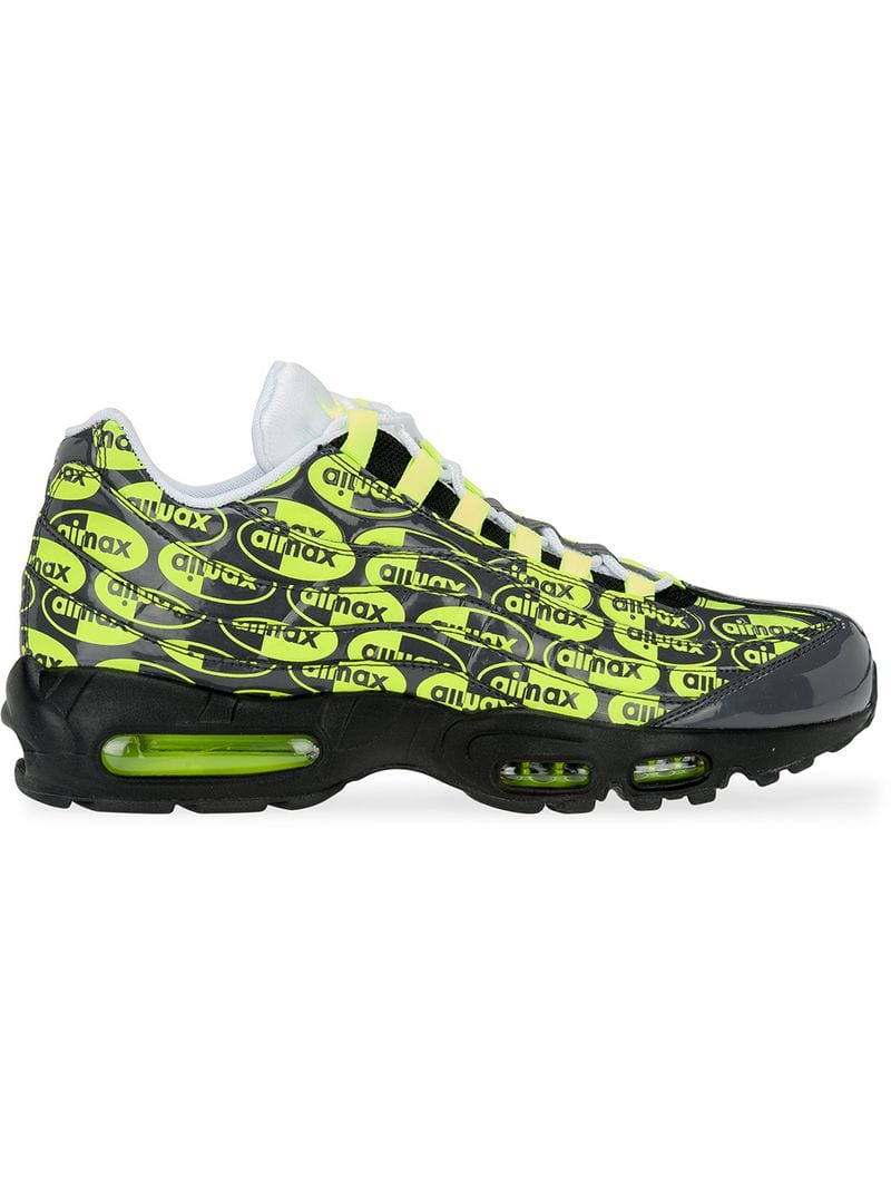 Nike Air Max 95 Premium logo sneakers men Black Ceneje.si