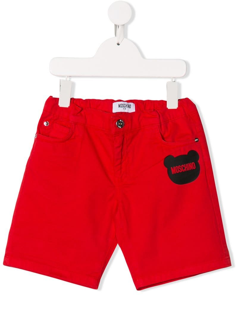 351becf3 Moschino Kids - toy silhouette print shorts - kids - Red - Jeftinije.hr