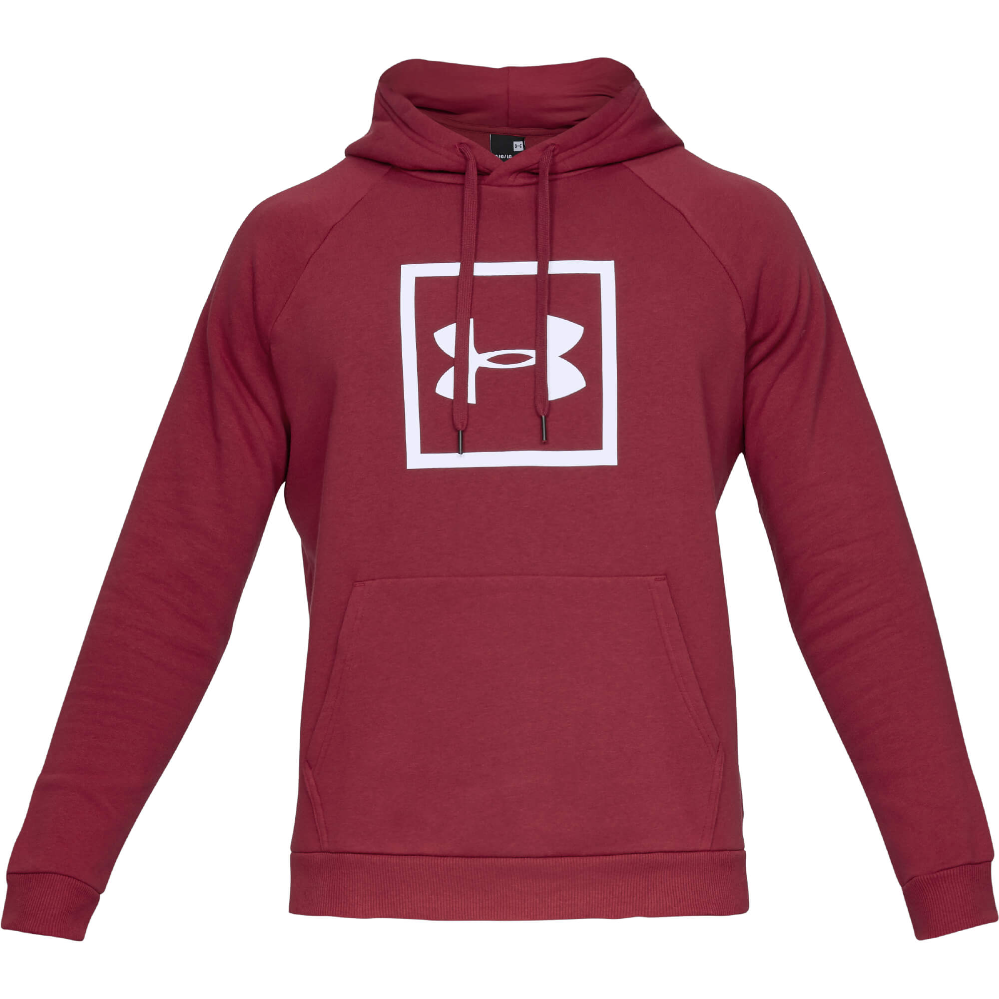 Under Armour Puloverji RIVAL FLEECE LOGO HOODIE Rdeča - Ceneje.si 767db02b52