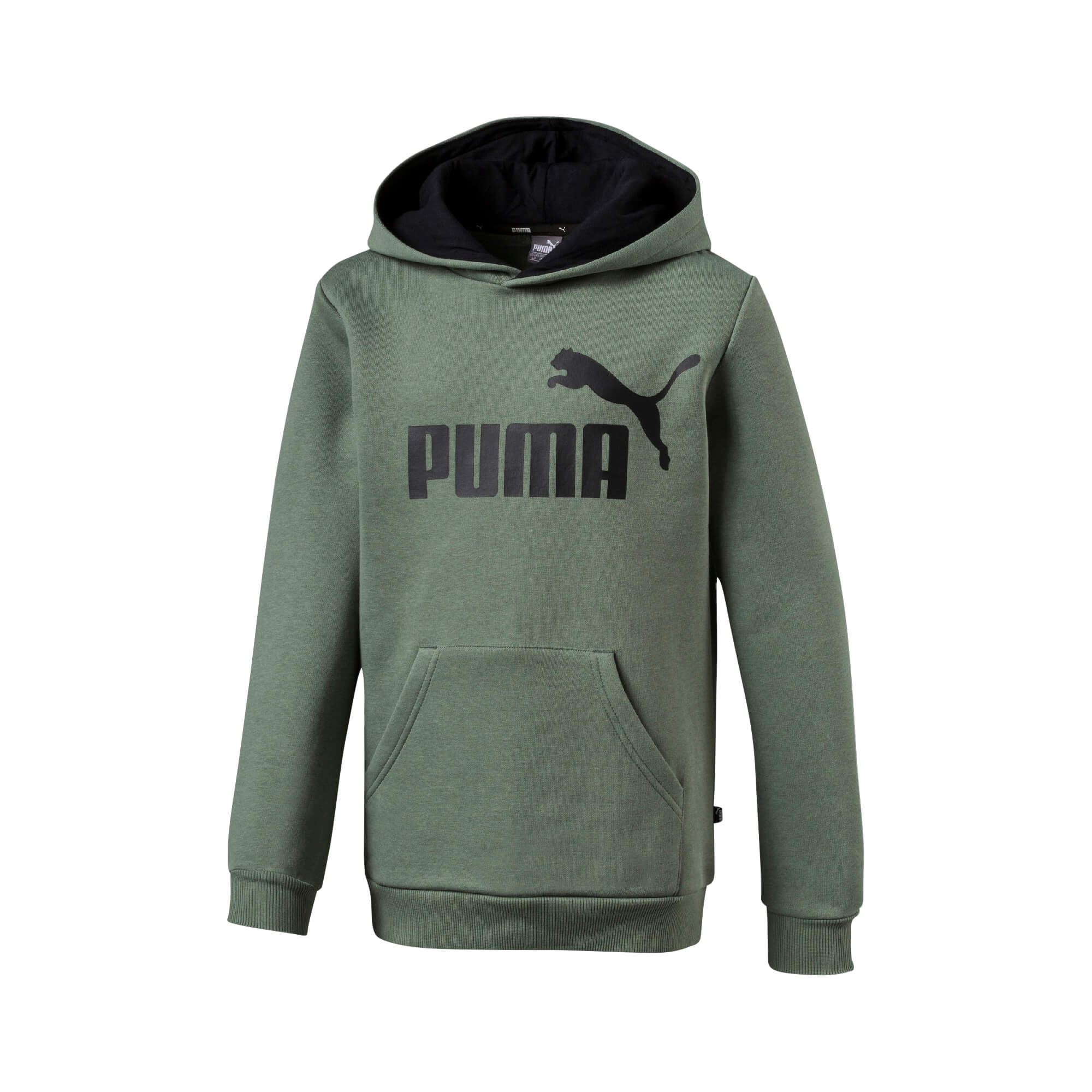 7ee4a2a577a2 Puma Dječji pulover Olivna 140 ESS Logo Hoody - Jeftinije.hr