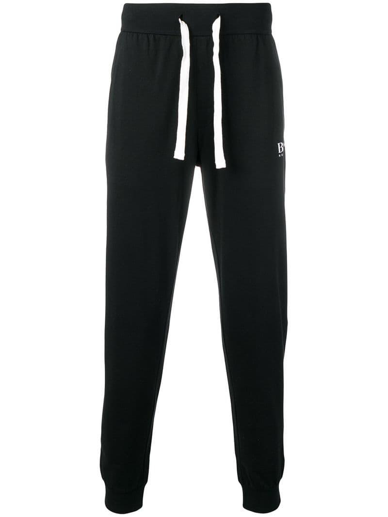 3e2719eaf Boss Hugo Boss-tapered logo track trousers-men-Black - Ceneje.si