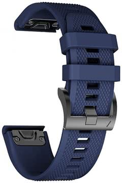 sports shoes f72f9 aad85 TECH-PROTECT SMOOTH GARMIN FENIX 5S/5S PLUS (20MM) NAVY BLUE (99974442)