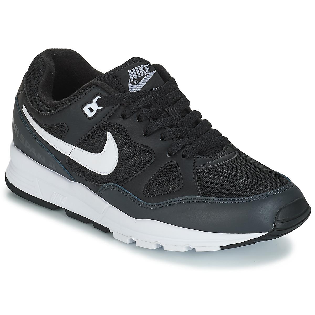 19fa002a6c7 Nike Niske tenisice AIR SPAN II Crna - Jeftinije.hr