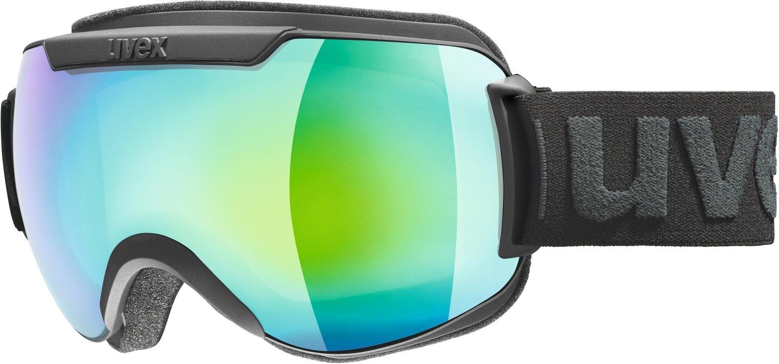 ba58c993f UVEX Downhill 2000 S FM Black Mat/Mirror Green - Ceneje.si