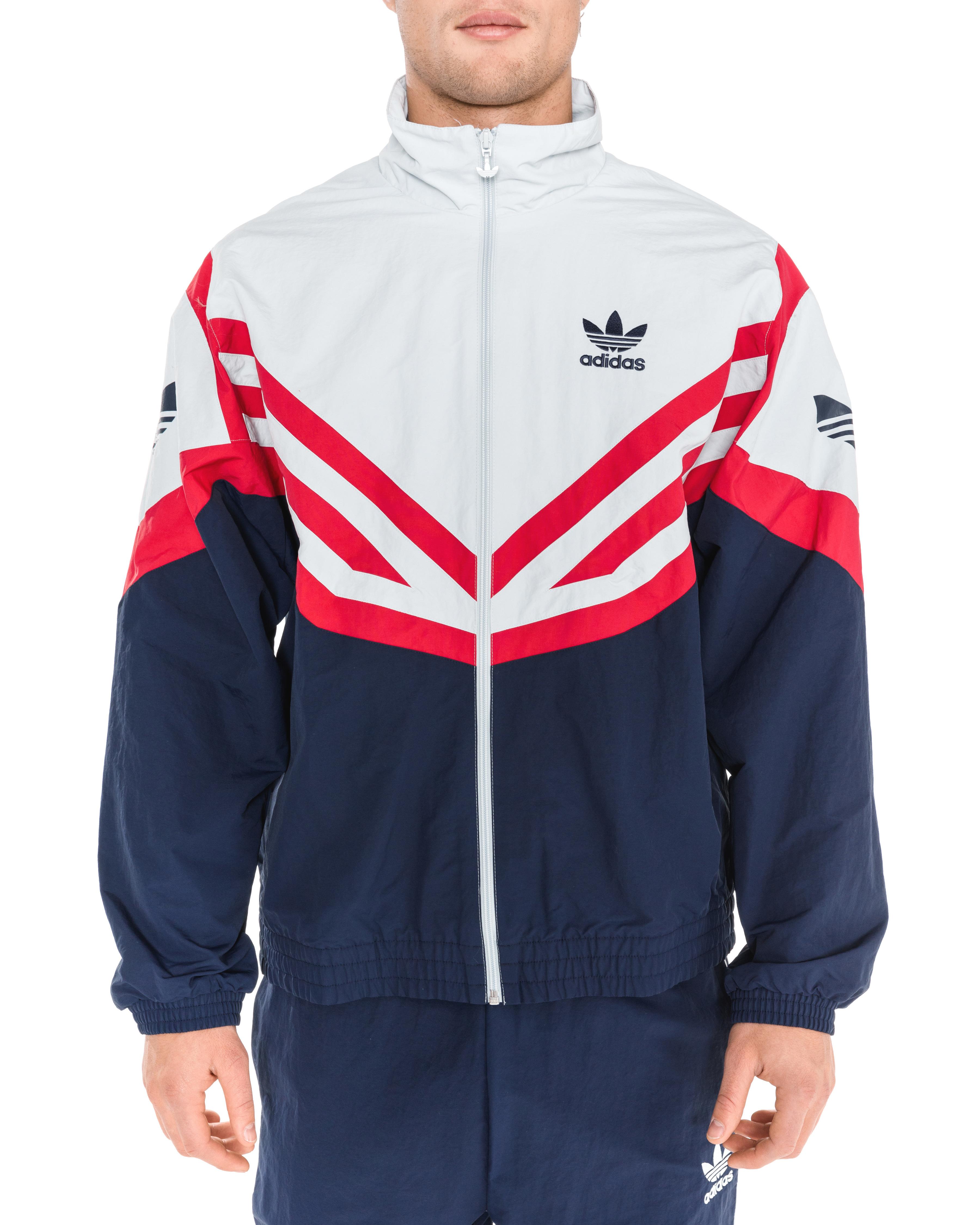 adidas Originals Sportive Jacket EJ0947 Modra Ceneje.si