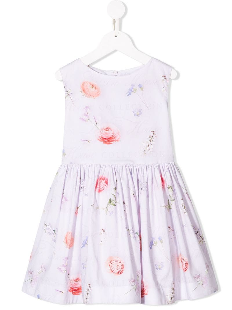 c0f5bd5f4 Lapin House-ruched detail short dress-kids-Purple - Ceneje.si