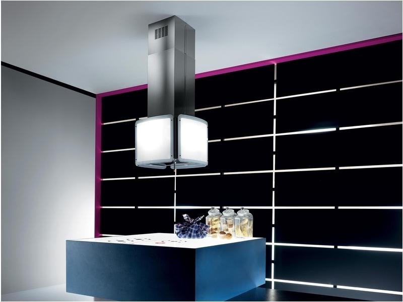 elica napa alba cubo is ix f 55. Black Bedroom Furniture Sets. Home Design Ideas