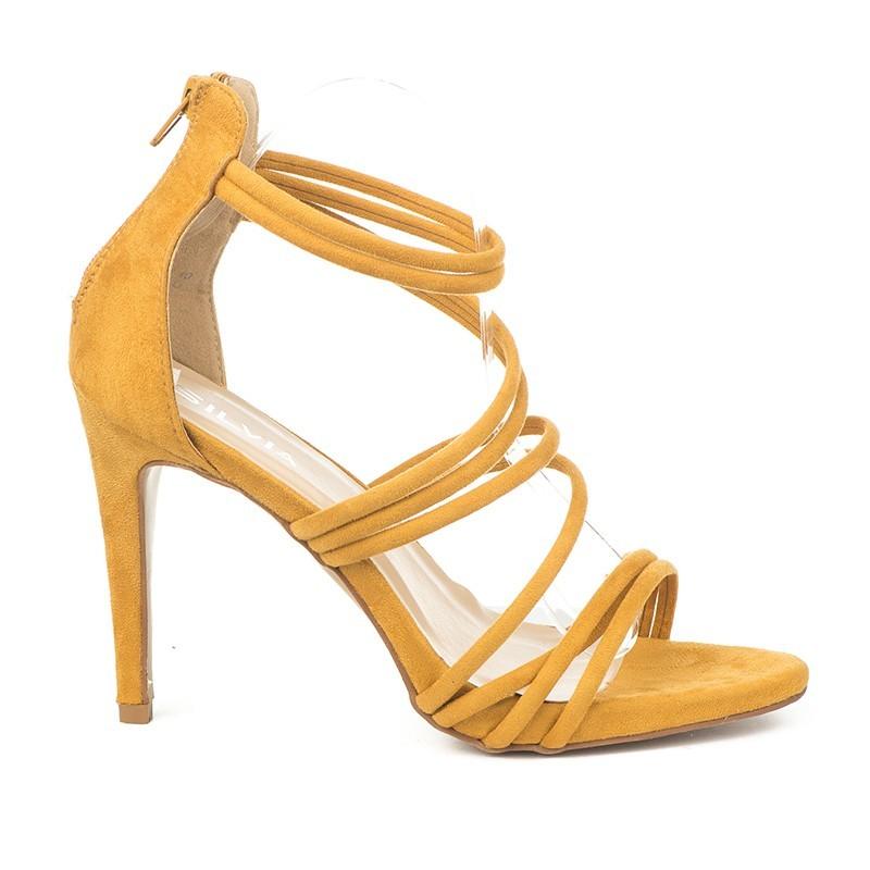 40e8614ca3be Elegantne sandale na štiklu S4307