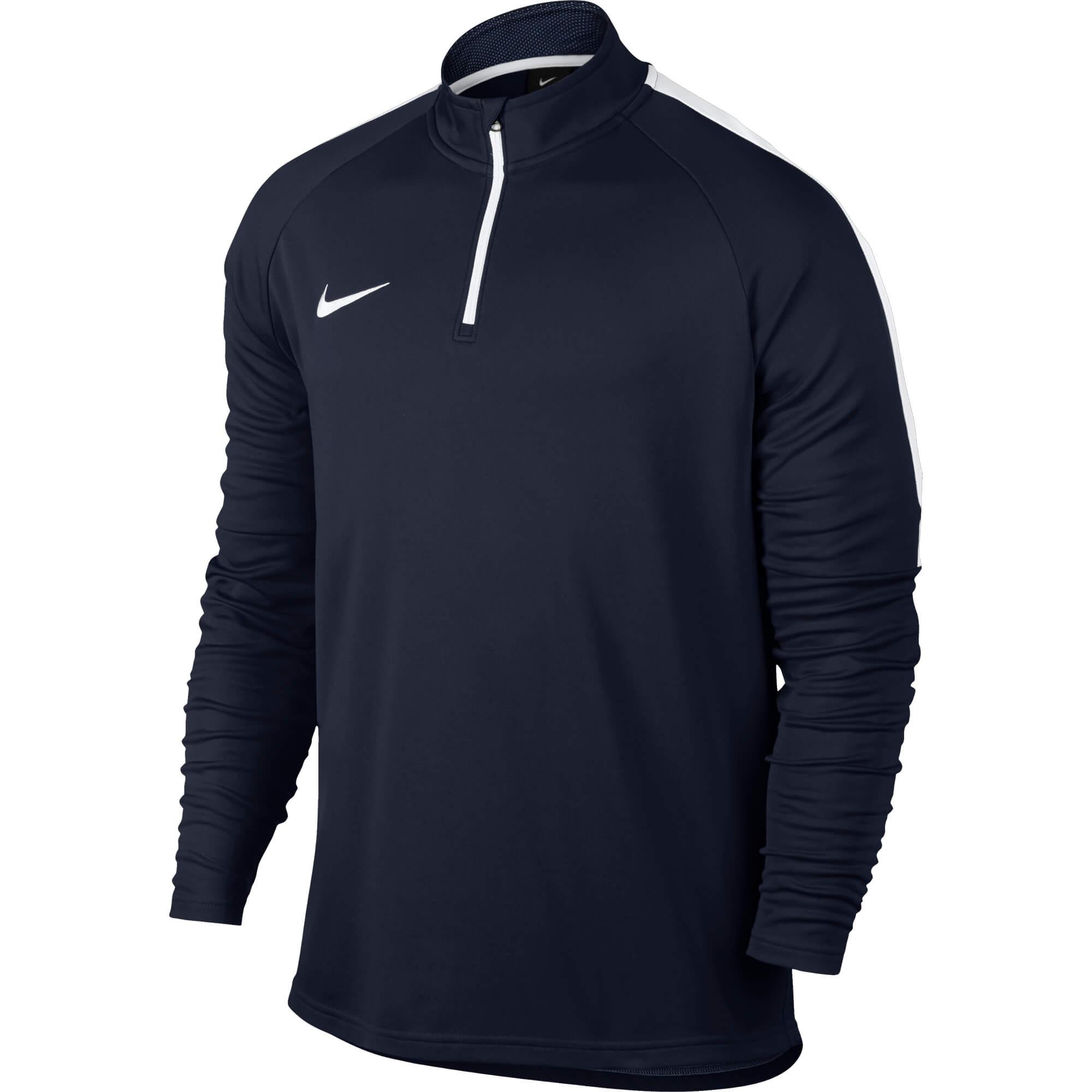 1681219f28 Nike Moški pulover Dry Drill Temno modra - Ceneje.si