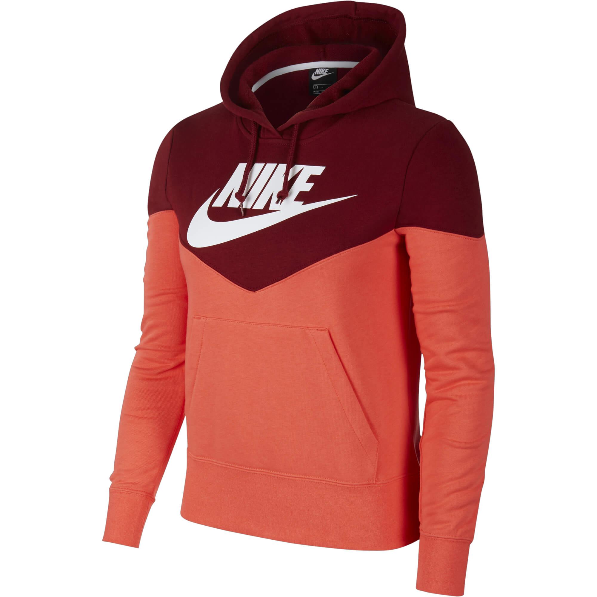 949beb74fb2b Nike ženski pulover HRTG HOODIE FLC Rdeča - Ceneje.si