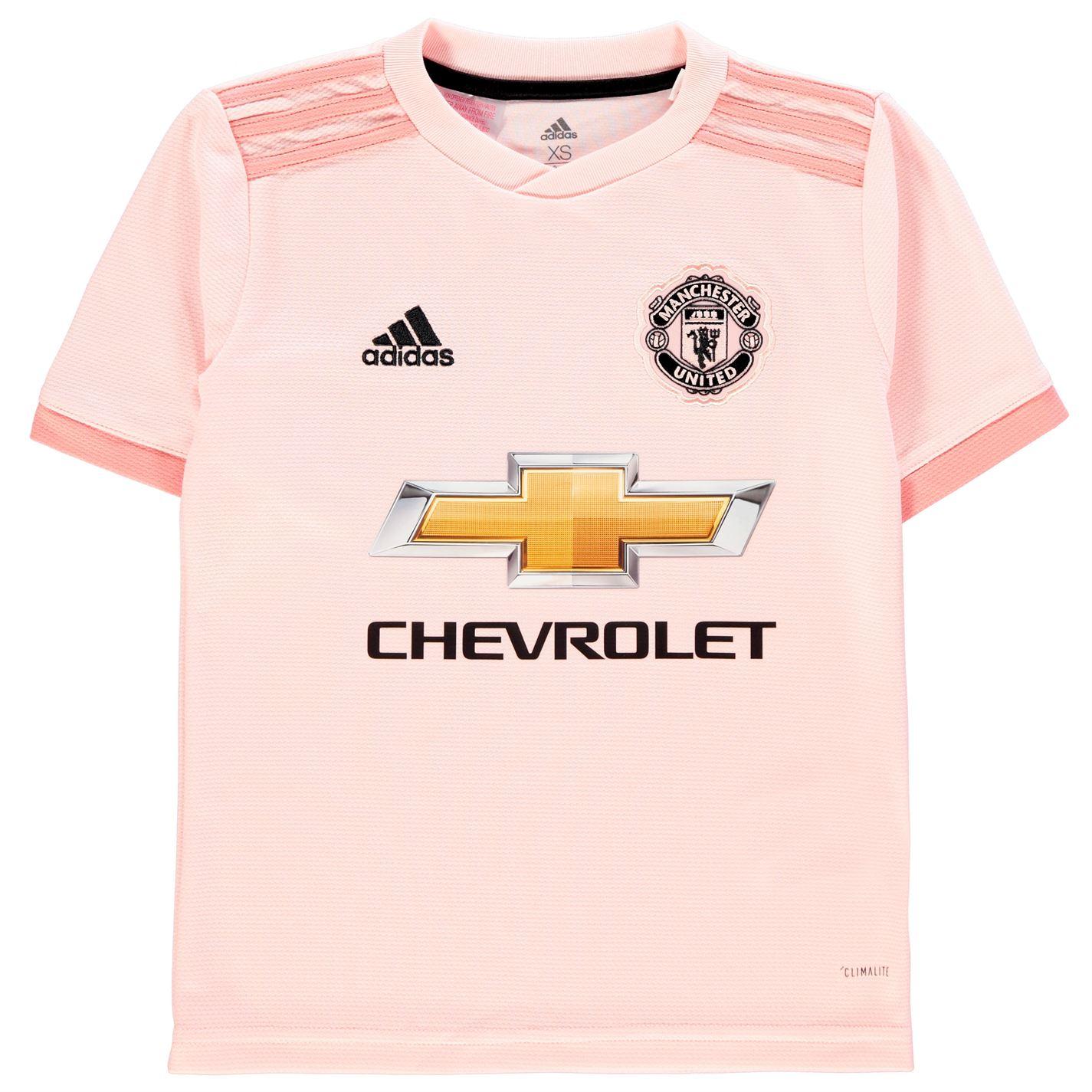 679f3c85c3a adidas Manchester United Away Shirt 2018 2019 Junior Roze - Jeftinije.hr