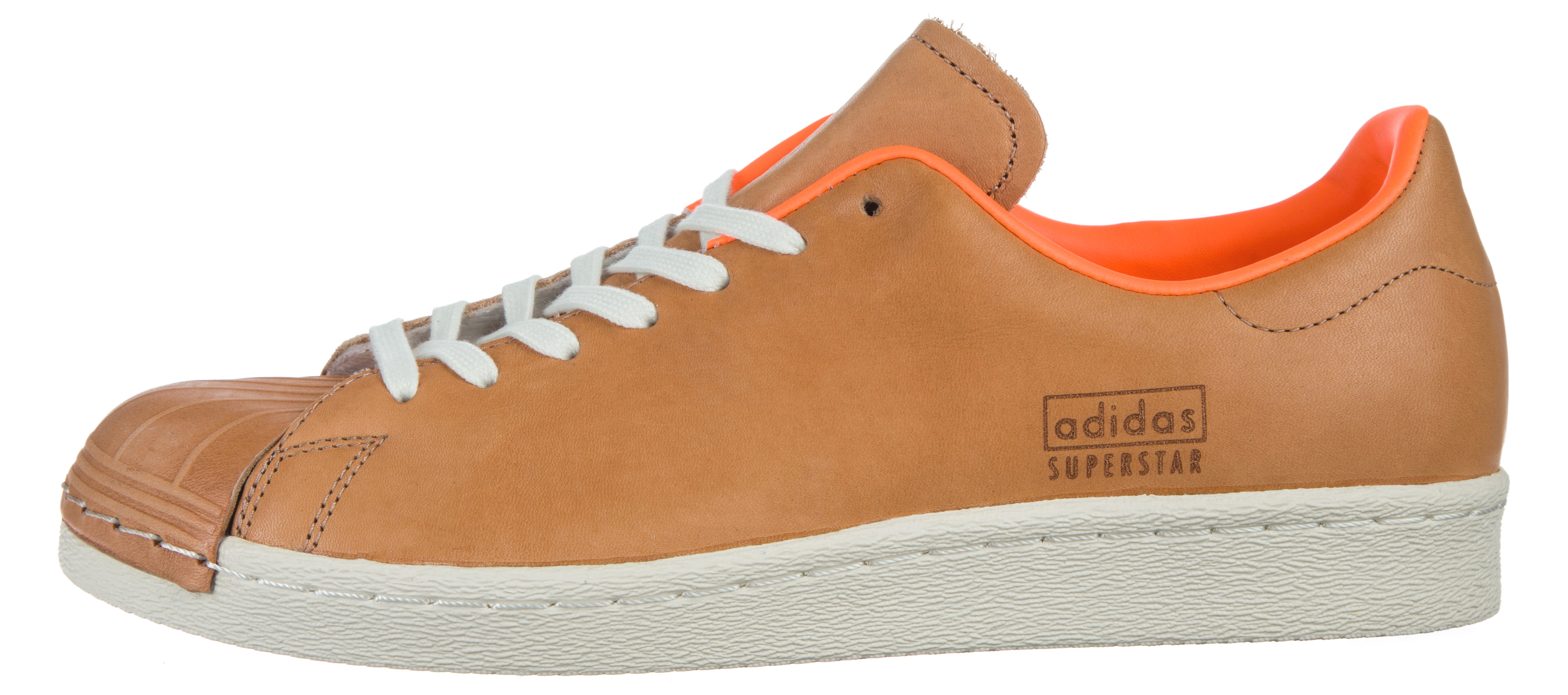 brand new 2c65c 9a6ee adidas Originals Superstar 80's Clean Sneakers BA7767 Rjava ...
