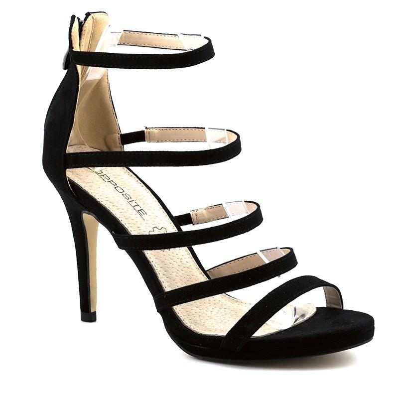 d26b6adb277b OPPOSITE elegantne sandale na štiklu LS80720