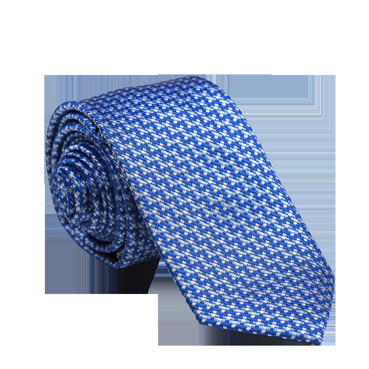 18bd72f12a7 Muška kravata s uzorkom Broke plava - Jeftinije.hr