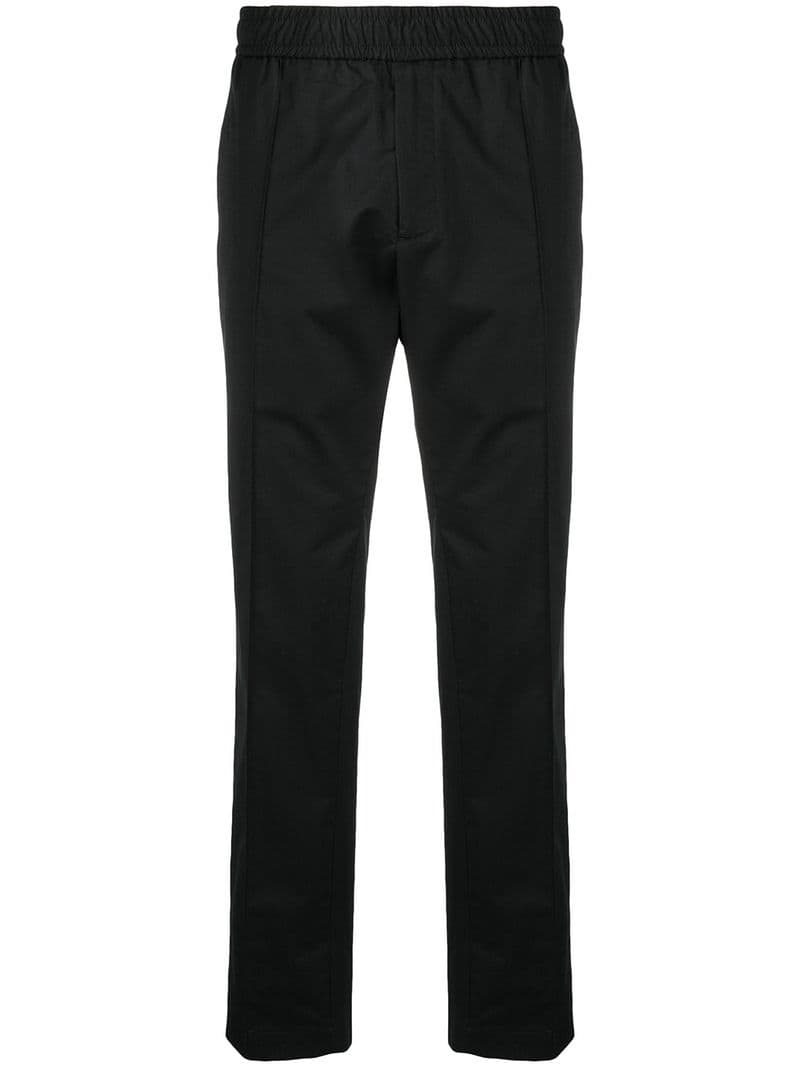 fb934a3ef5 Versace-relaxed fit track pants-men-Black