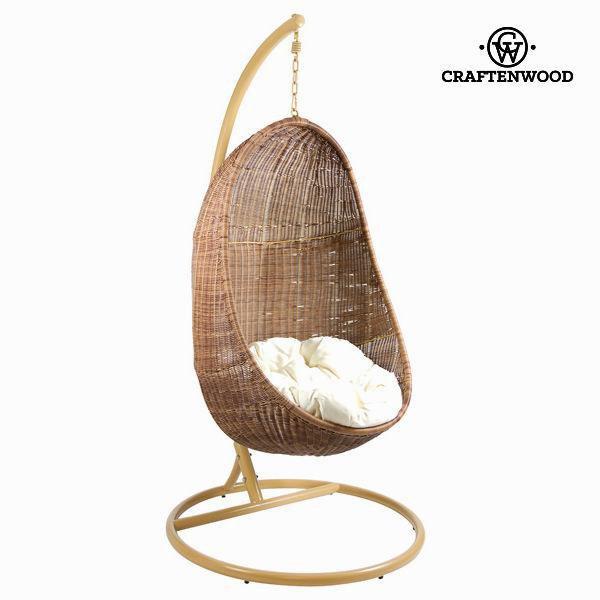 Viseća ljuljačka s bijelom sjedalicom by Craften Wood - Jeftinije.hr