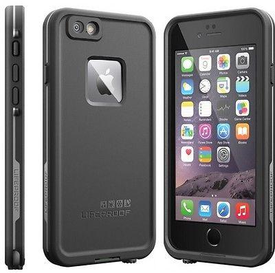 brand new ee358 b5c86 LIFEPROOF vodoodporni ovitek za iPhone 6 fre, črn - Ceneje.si