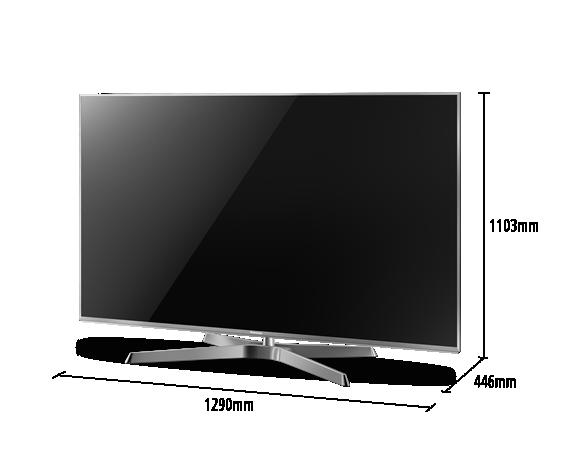 led tv panasonic tx 58ex780e 2400 hz 4k 3d. Black Bedroom Furniture Sets. Home Design Ideas