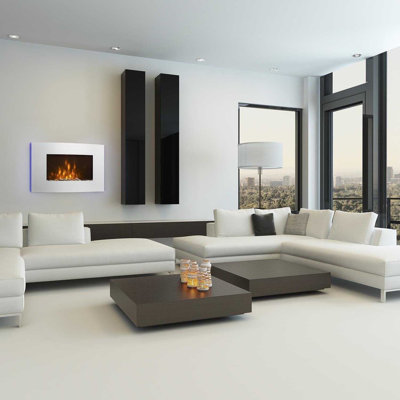 klarstein lausanne vertical elektri ni kamin 2000 w. Black Bedroom Furniture Sets. Home Design Ideas